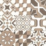 Buy cheap Creative Decorative Porcelain Floor Tile Self Adhesive Formaldehyde Free Dustproof from wholesalers