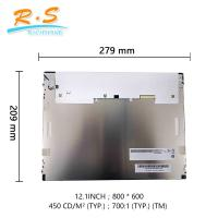 Buy cheap 12.1'' Industrial LCD Screen , tft lcd screen module color monitor car LED backlight G121SN01 V4 from wholesalers