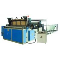 Buy cheap Full automatic toilet paper rewinding machine from wholesalers