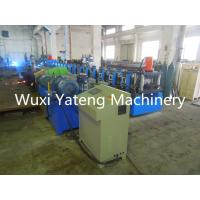 Buy cheap GI Material Metal Roof Roll Forming Machine , 380V / 50 Hz Roofing Sheets Manufacturing Machine from wholesalers