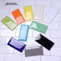 Buy cheap 10 X 20 Flexible Wall Tiles Wall Tiles Cloud Grey Straight Beveled Edge Typ product