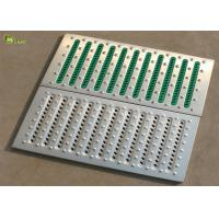 Buy cheap Standard Platform Floor Galvanized Deck Span Panel Drainage Steel Grating from wholesalers