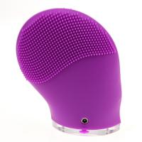 Buy cheap silcone ultrasonic facial cleansing brush product