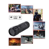 Buy cheap Sports Action Camera waterproof HD 720P 30FPS 8MP 120A+ HD Wide-angle Lens DVR Helmet Action Camera Camcorder Car DVR from wholesalers