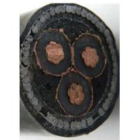 Buy cheap Medium voltage 11kV 33kV xlpe insulation underground 70mm2 3 core power cable from wholesalers