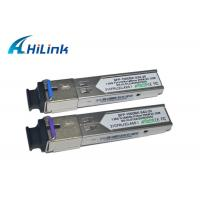 Metal Enclosure Simplex SFP Transceiver Module , Cisco Compatible SFP Modules