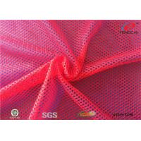 Buy cheap 100 % Polyester Sports Mesh Fabric Athletic Wear Material Breathable Net Fabric from wholesalers