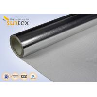 Buy cheap 0.4mm Insulation Blanket Aluminum Foil Fiberglass Cloth 550C High Thermal Flange Cover from wholesalers