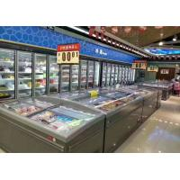 Buy cheap Wall - Sited Supermarket Island Freezer 2.5M Long With High Visibility Glass Door from wholesalers