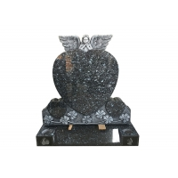 Buy cheap 60x70x10cm Multicolor Red Granite Tombstone For Baby product