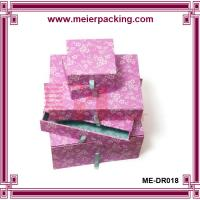 Buy cheap Paper Gift Boxes/Slide Drawer Paper Jewelry Box/Birthday Presentation Box ME-DR018 from wholesalers