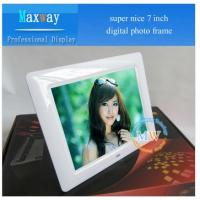 Buy cheap calender, alarm clock, digital clock with photo frame from wholesalers