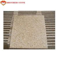 Buy cheap G682 Rusty Yellow Granite Stone Slabs , G682 Sunset Gold Granite Fashionable Appearance from wholesalers