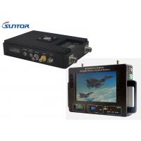 Buy cheap 300-860MHz Professional Wireless Video Transmitter And Receiver For Military / Industrial product