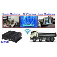 Buy cheap G.726 Coding Truck dvr digital video recorder Support 3G GPS Tracking product