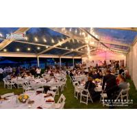 Buy cheap Deluxe Transparent Decorated Wedding Marquee for Luxury Events from wholesalers