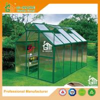 Buy cheap Low Cost Agriculture Green Color Aluminum Growhouse Equipment - 355x216x220cm from wholesalers