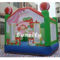 Buy cheap Strawberry Cake Inflatable Bouncy Castle In Customizable Size For Sale from wholesalers