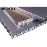 Buy cheap Anodized Construction Aluminum Profile Aluminum Honeycomb Panel With Brushed Finish from wholesalers