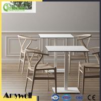 Buy cheap Amywell Modern design waterproof durable Square HPL hpl restaurant dining table from wholesalers