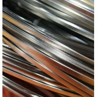 Buy cheap 0.5mm Thickness Flat Carbon Steel Welding Wire 17MM Width ISO Standard from wholesalers