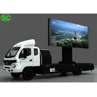 Buy cheap P5 Mobile Truck LED TV Display Commercial Advertising Screen Sign from wholesalers
