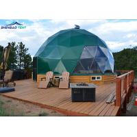 Buy cheap Waterproof Pvc Coated Army Dome Tent Easy Camp House For Outdoor from wholesalers