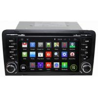Buy cheap Ouchuangbo Auto DVD Multimedia Stereo Audi A3 2003-2011 2003-2011 Android 4.4 3G Wifi Blue from wholesalers