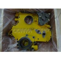 China CAT 3306 E320B Excavator Oil Pump For Engine Spare Parts Wooden Packing on sale