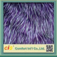 Buy cheap Polychrome Long Pile Artificial Jacquard Faux Fur Fabric For Garmant Toy product