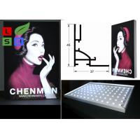 45mm Thickness LED Frameless Fabric Light Box Single Side For Clothes Retail Display