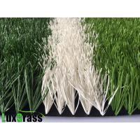 Buy cheap double stem Waterproof Smooth Surface Soccer Artificial Grass PP + Net +SBR Latex Backing Material from wholesalers