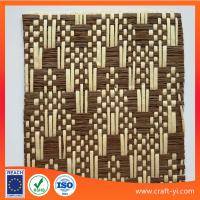Buy cheap woven paper mesh fabrics natural straw woving cloth textile supplier and manufactor from wholesalers