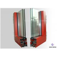 Buy cheap Extruded Aluminium Window Extrusion Profiles Customized Color Two Layers Glass from wholesalers