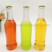 Buy cheap 275ml Clear Soft Drink Glass Bottle With Crown Cap from wholesalers