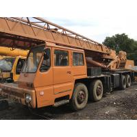 Buy cheap TADANO TG-500E Second Hand Cranes , 50 Ton Second Hand Truck Cranes Nissan Diesel from wholesalers