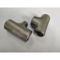 Buy cheap Stainless Steel Reducing Equal Tee 45D Seamless Pipe Fittings from wholesalers
