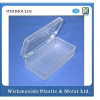 Buy cheap Custom 2 Cavities Injection Moulding Products For Transparent Plastic Container product