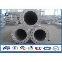 Buy cheap Single Circuit 69KV Power Steel Tubular Pole with Hot dip Galvanization from wholesalers