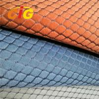 Buy cheap Soft Jacquard Sponge Auto Upholstery Fabric For Car Seat Cover 220gsm 4MM Foam product
