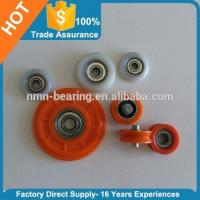 Buy cheap Carbon steel bearing with plastic covered pulley 604ZZ 605ZZ 606ZZ 608ZZ 625ZZ 626ZZ 695ZZ 696ZZ from wholesalers