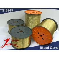 Buy cheap Brass Coated High Tensile Strength Steel Cord for All Tires 0.22+6+12*0.20 HT from wholesalers