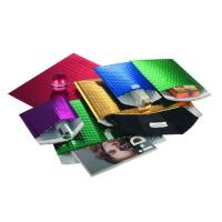 Buy cheap Shiny Metallic Bubble Mailer with Adhesive or Velcro Closure, Measures 42 x 60cm product