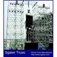 Buy cheap Hot speaker layer truss,layer scaffolding truss,Goalpost truss from wholesalers