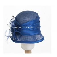 Buy cheap YRSM14074 dress hat, sinamay hat,church hat,occasion hat,derby hat,race hat from wholesalers