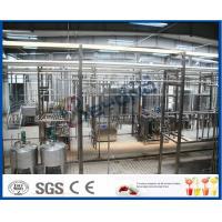 1500LPH UHT Milk Processing Line , Milk Powder Fresh Milk UHT Dairy Processing Plant