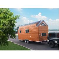 Buy cheap Plywood Wall Prefabricated Tiny House On Wheels Space Saving CE ISO Certification from wholesalers