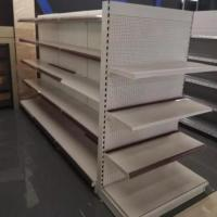 Buy cheap Customized Supermarket Shelf Display , Supermarket Shelf Rack Double Sided from wholesalers