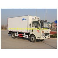 Buy cheap Sinotruk small Box Van Truck 4X2 10 tons 120HP 2800mm Wheel base from wholesalers