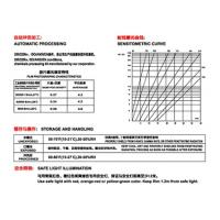 China Radio graphing film Radiation film Industry film D7 T7 for X ray Gamma ray inspection on sale